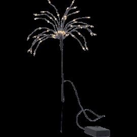 LED gaismas dekors salūts melns AA 0,6W 25x42cm Firework 710-31