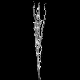 Gaismas dekors koks ar LED lampiņām sudraba 1,8W 10x115cm Willow 584-07