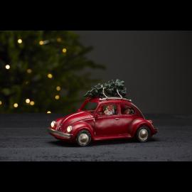LED Ziemassvētku gaismas dekors uz baterijām 0,18W 25,5x14,5cm Merryville 992-21