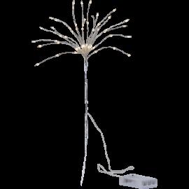 LED gaismas dekors salūts sudraba AA 0,6W 25x42cm Firework 710-32