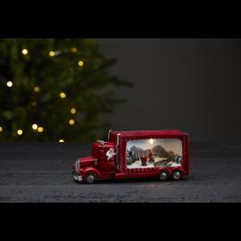 LED Ziemassvētku gaismas dekors uz baterijām 0,18W 21x9cm Merryville 992-23