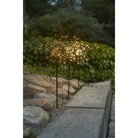 LED gaismas dekors salūts balts x3 2,7W 200x65cm Firework outdoor 860-36