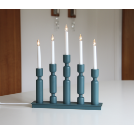 LED Koka Lampiņu Svečturis 196-02