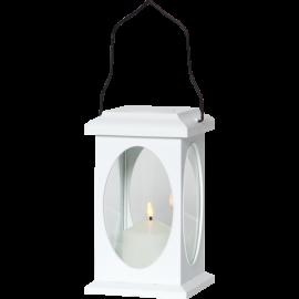 LED gaismas dekors laterna balta AAA 0,03W 13,5x23cm Flamme 062-78