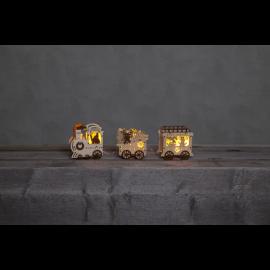 Koka LED Dekors Lāzergriezts 270-64