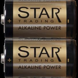 Baterijas 2gab. C 1,5V power alkaline 064-74