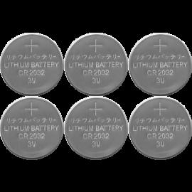 Baterijas 6gab. CR2032 066-66
