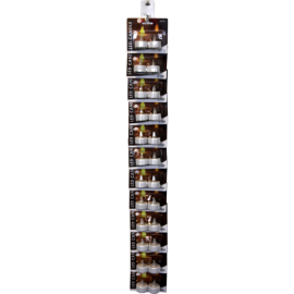 Blistera iepakojumu turētājs 10gab. 4x85cm Blister card holder 10 pack 067-90