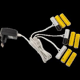 Baterijas Atdalītājs 3 x AA 062-05 062-05