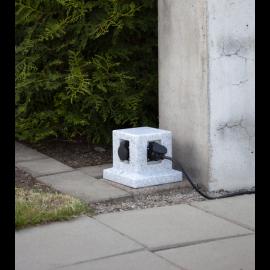 Pagarinātājs sadalītājs pelēks x4 200cm 20x18cm Plugge 418-96