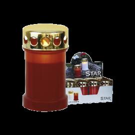 LED kapu sveces sarkanas 12gab. C 0,06W 29,5x32cm Serene 067-99-58