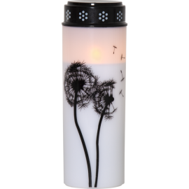 LED Grave Candle Dandelion 064-98