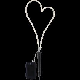 LED gaismas dekors sirds uz baterijām C 1,1W 21x39cm Decorationheart 857-11