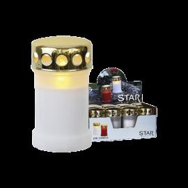 LED kapu sveces baltas 12gab. C 0,06W 29,5x32cm Serene 067-99-57
