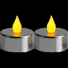 LED Tējas Sveces uz Baterijām 2 Pack Mette 066-04