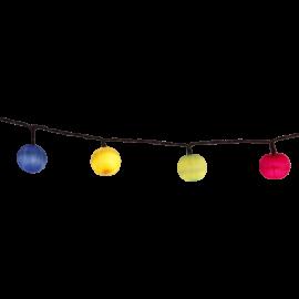 LED Virtene Ballītēm Multi 135cm 10 LED Lampiņas 726-68