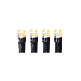 LED Virtene Dimmējamā Melna 500cm 50 LED Lampiņas 495-67