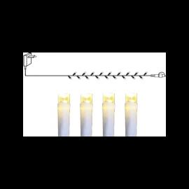 LED Virtene Dimmējamā Balta 1000cm 100 LED Lampiņas 495-18-CH