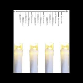 LED Virtene Dimmējamā Balta 500cm 50 LED Lampiņas 495-68