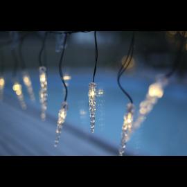 LED Virtene Dimmējamā Melna 500cm 50 LED Lampiņas 495-61