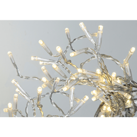 Lampiņu virtene caurspīdīga 40 LED 1,2W 400cm Serie led 497-14