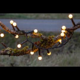 Lampiņu virtene melna 300 LED 3,6W 600cm Berry mini 472-50