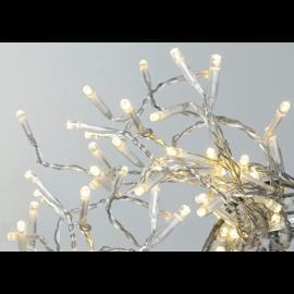 Lampiņu virtene caurspīdīga 120 LED 1,8W 720cm Serie led 497-44