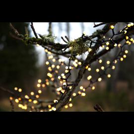 Lampiņu virtene melna 700 LED 6W 1400cm Berry mini 472-52