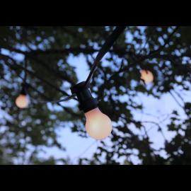 Ziemassvētku LED virtene Melna 470cm 10 LED Lampiņas 418-60