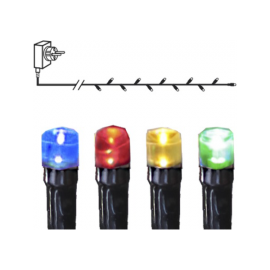 Ziemassvētku LED virtene MicroLED Multi 900cm 90 LED Lampiņas 591-11