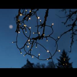 Ziemassvētku LED virtene Melna 2400cm 240 LED Lampiņas 497-90