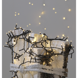 Ziemassvētku LED virtene MicroLED Melna 720cm 120 LED Lampiņas 591-30