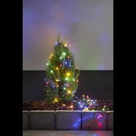 Lampiņu virtene melna multi 100 LED 2,1W 750cm Diamond star light 457-09-1