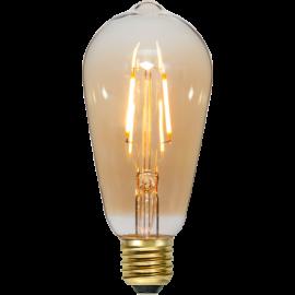 LED Spuldze ST64 E27 2000K 80lm 0,75W 6,4x14cm 355-70-1