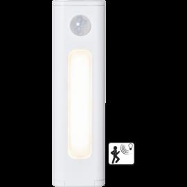 LED Nakts lampa ar krēslas un kustības sensoru AAA 0,8W. 12,5x2,1cm 357-27