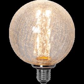 LED Spuldze G125 E27 2000K 50lm 1W 12,5x16,4cm 353-75
