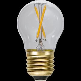LED Spuldze G45 E27 2100K 30lm 0,5W 4,5x7,8cm 353-18-1