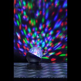 LED disko galda lampa RGB 3W 8,8x10,5cm Disco led lamp 361-41