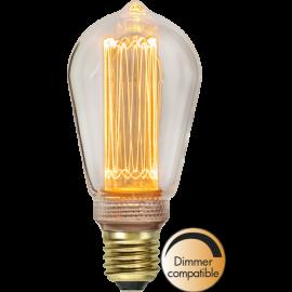 LED Spuldze ST64 E27 1800K 90lm 2,5W 6,4x14,5cm 349-71-1