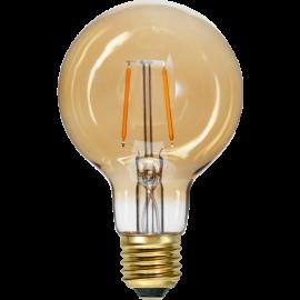 LED Spuldze G80 E27 2000K 80lm 0,75W 8x12,5cm 355-50-1