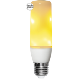 LED Spuldze T40 E27 1800K 133lm 2,64-3,94W 3,9x13,5cm Flame 361-71-1