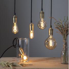 LED Spuldze ST64 E27 2100K 155lm 3,5W 6,4x14cm 354-43-2