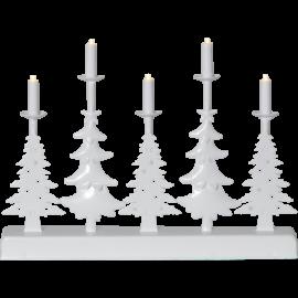 LED Metāla Lampiņu Svečturis 188-74