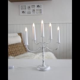 LED Metāla Lampiņu Svečturis 188-05