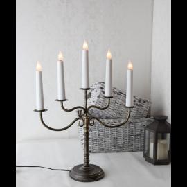 LED Metāla Lampiņu Svečturis 188-06