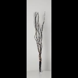 Gaismas dekors koks ar LED lampiņām melns 1,35W 10x115cm Willow dewdrop 584-23