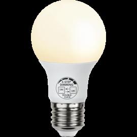 LED Spuldze E27 2700K 806lm 9W 6x10,8cm 359-62