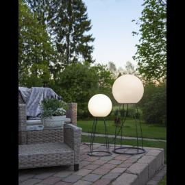Grīdas lampa balta 1xE27 28x70cm Gardenlight mallorca 804-01
