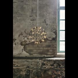 LED gaismas dekors karināms melns 1,5W 30x30cm Mounty 860-95