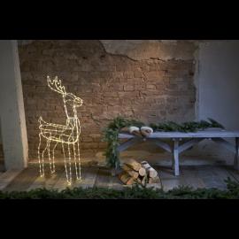 LED Ziemassvētku āra gaismas dekors briedis 3,4W 73x105cm Tuby deer 803-64